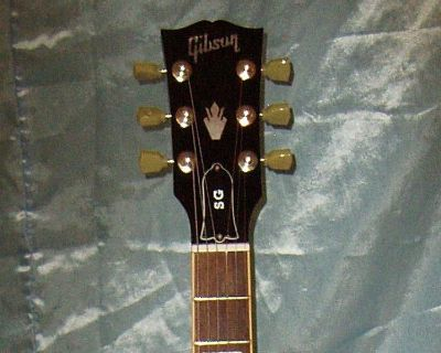 2008 Black Gibson SG Standard Guitar