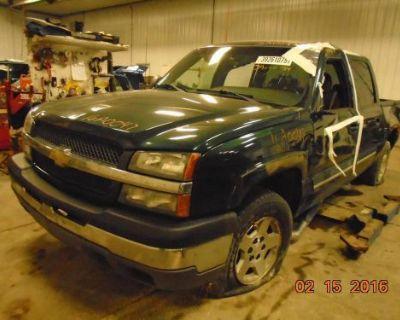 Chevrolet Silverado 1500 Pickup Transmission A.t.; 5.3l, 4x4 05 06; 16a0047