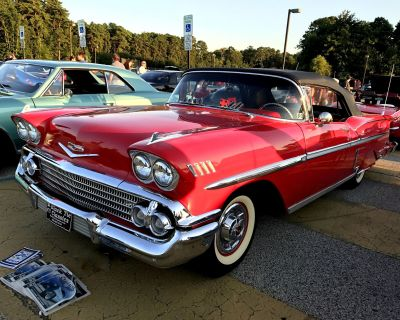 1958 Chevrolet Sorry Just Sold!!! Impala Convertible AC