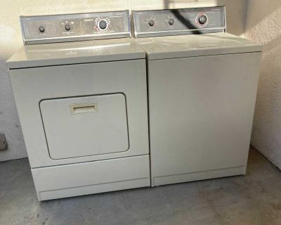 Roper Washer and Has Dryer