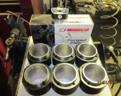 Corvair Corsa Spyder 140 H.p. 180 H.p.turbo Big Bore Cast Cylinders & Pistons