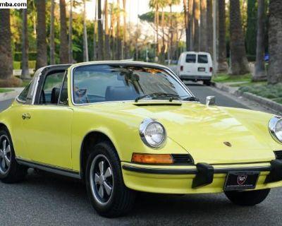 1973 Porsche 911E Targa