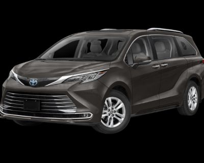 New 2021 Toyota Sienna Limited FWD 5 In-Transit