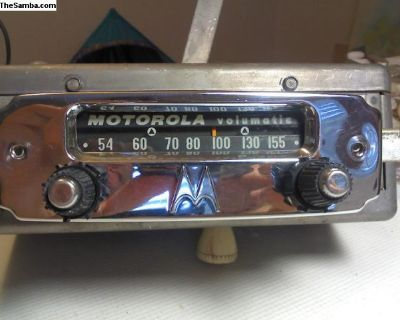 [WTB] BIG M motorola radio bug ghia early
