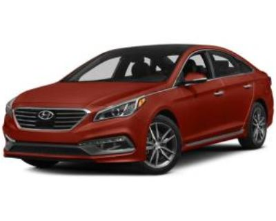 2015 Hyundai Sonata Limited 2.0T with Gray Accents