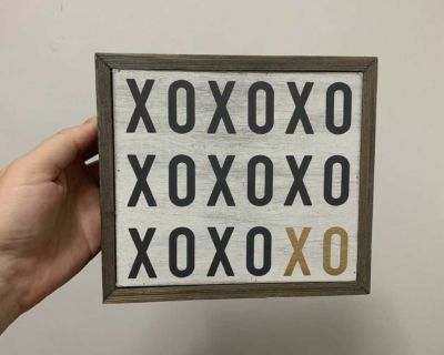 Small Wood Sign