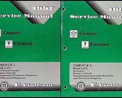 1997 Camaro Firebird Shop Manual Set Z28 Rs Trans Am Chevy Pontiac Service Oem
