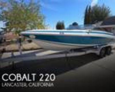 22 foot Cobalt 220