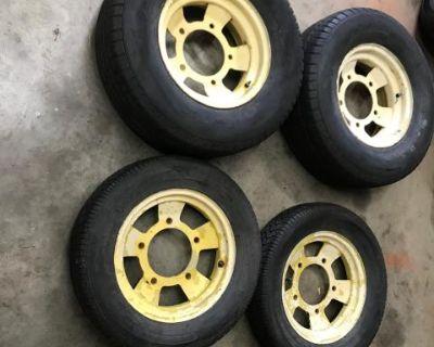 Wide 5 15inch Baja dune buggy wheels 15x8 15x5