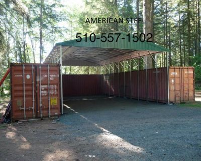 METAL STEEL SHOPS GARAGES AG STRUCTURES RV BOAT COVERS