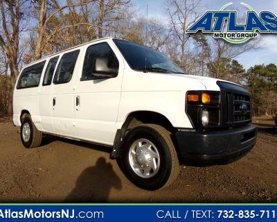 Used 2012 Ford Econoline E-250- 9 Passenger Van with School Bus Entry Door