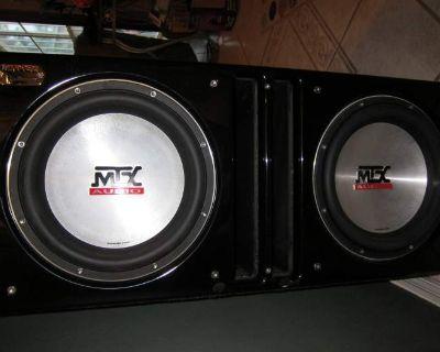 MTX SLEDGEHAMMER BOX W/MTX SUBS for X-Runner Extended Cab
