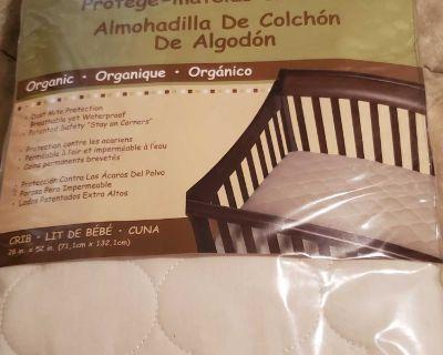 Crib Mattress Pad Brand New