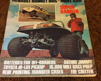 Road Test Dune Buggy Offroad Guide June 1970