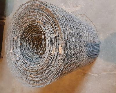 Chicken or rabbit hutch wire