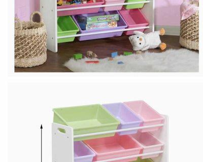 Toy storage unit