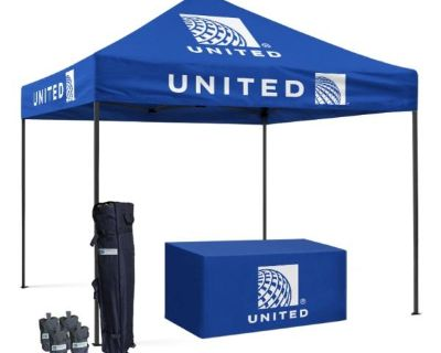Custom Printed Canopy Logo For Any Events