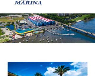 In Door 45 foot Boat Slip at Legendary Marine