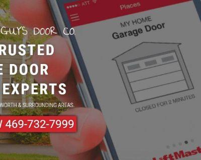The Good Guys Garage Door Repair 469-732-7999