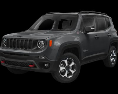 New 2021 Jeep Renegade Trailhawk With Navigation & 4WD
