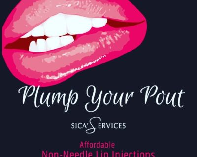 Plump Your Pout & More💋💄👄Fillers with out painful needles and Gorgeous Brows!!