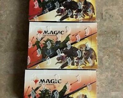 Magic the Gathering jumpstart booster boxes sealed