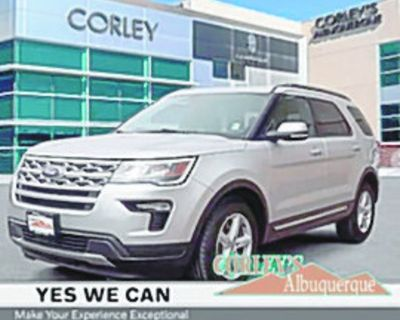 FORD 2018 EXPLORER XLT, Automatic, Front Wheel Drive, 6 Speed, 58k miles, Stock #XP5056...