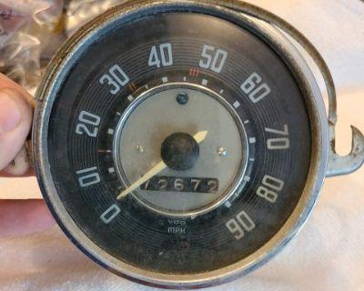 Early 63 bug speedo