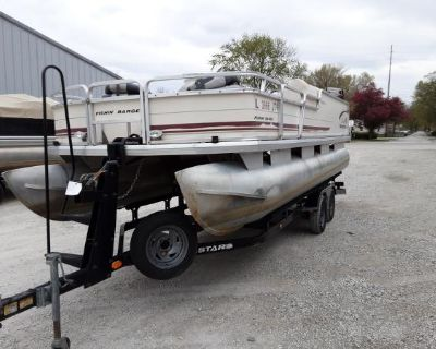 2003 Sun Tracker FISHIN' BARGE 21 Signature Series