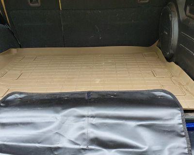 Massachusetts - JLU Weathertech Tan Cargo Mat with Bumper Cover $100