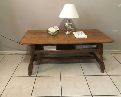 Antique Coffee Table/ TV stand