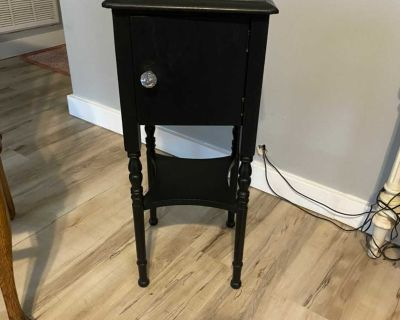 Up cycled old smokers table, I painted