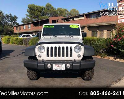 2016 Jeep Wrangler 4WD 2dr Rubicon