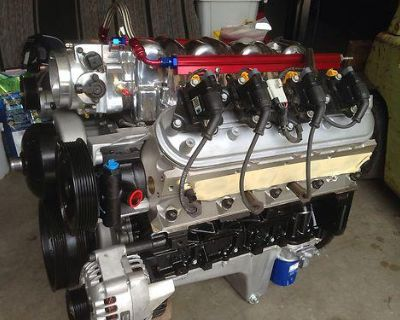 Ls2 6.0 Stroker Engine W Auto 4l80e Hdcomplete Swap Turn Key 500hp With Warranty