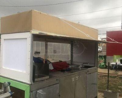 4' x 7' Food Vending Cart
