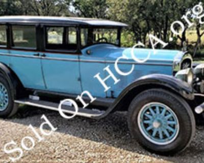 1927 Willys Knight Great 6