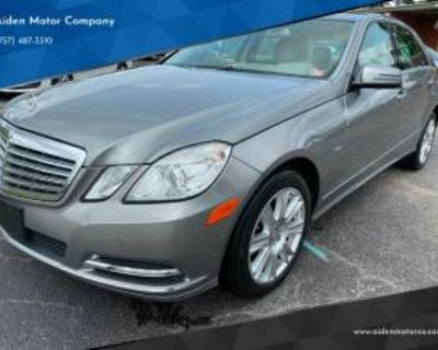 2012 Mercedes-Benz E-Class E 350 Luxury Sedan RWD