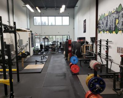 Hardcore Gym with an Industrial Feel at a Warehouse, Richmond