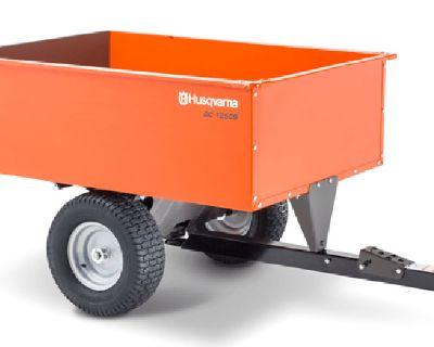 2021 Husqvarna Power Equipment 16 Cu. Ft. Steel Swivel Dump Cart Dump Trailers Warrenton, OR