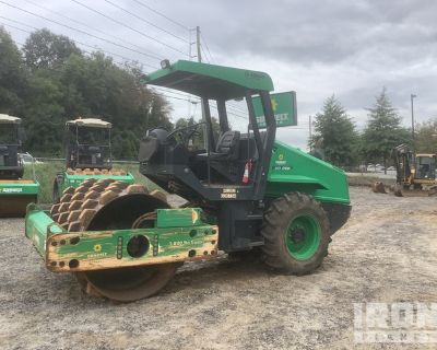 2014 Bomag BW177PDH-50 Padfoot Vibratory Single Drum Compactor