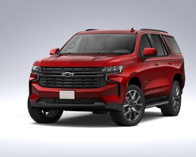 New 2021 Chevrolet Tahoe RST Four Wheel Drive SUV