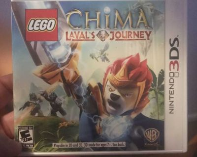 BRAND NEW - LEGO CHIMA LAVAL'S JOURNEY - NINTENDO 3DS