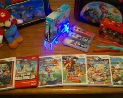 Super Mario Edition Nintendo Wii Bundle