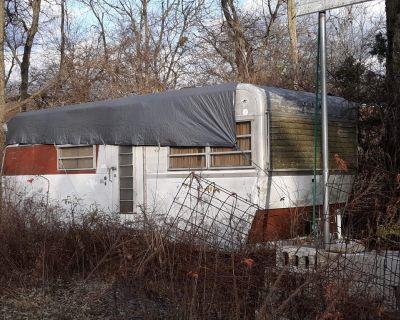 1968 22.5 ft travelmaster  trailer  restoration project