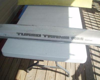 1979 Pontiac Firebird/trans Am Rear Deck Spoiler (white) Sk# Bjs