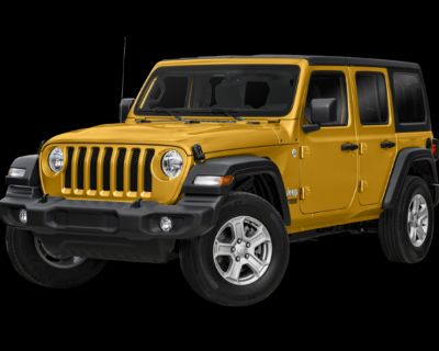 New 2021 Jeep Wrangler Unlimited Willys 4WD Convertible