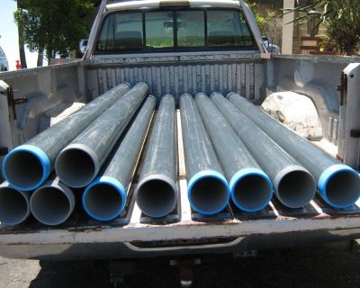 "Rigid Metal Conduit: 5"" Diameter For Electricians"