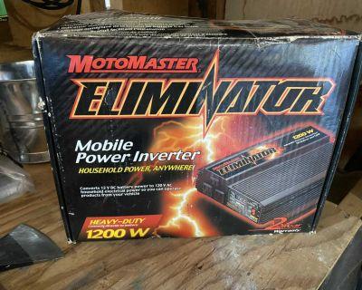 Motomaster inverter