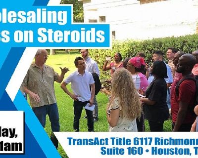 WHOLESALING CLASS ON STEROIDS! Ray Sasser & Landon Rothstein