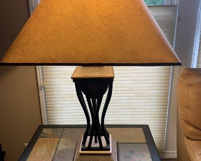 Set of 2 Table Lamps in excellent condition.
